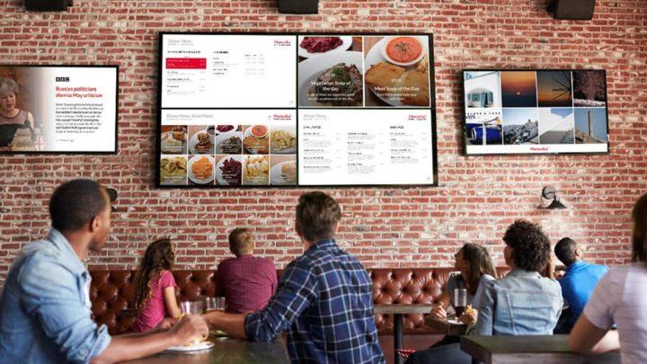 Создать слайд-шоу для цифрового экрана в кафе