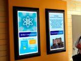 Цифровой экран в отеле