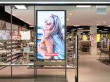 Привлечение клиентов показом рекламных роликов в витрине